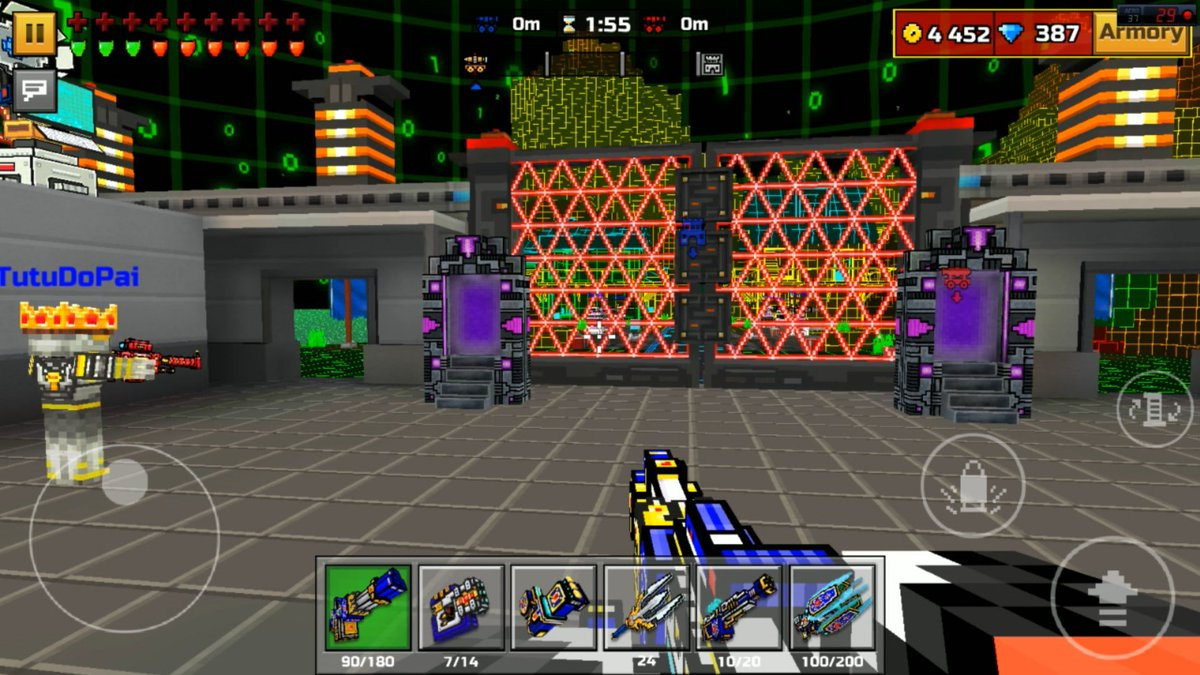 how to get mythical guns in pixel gun 3d