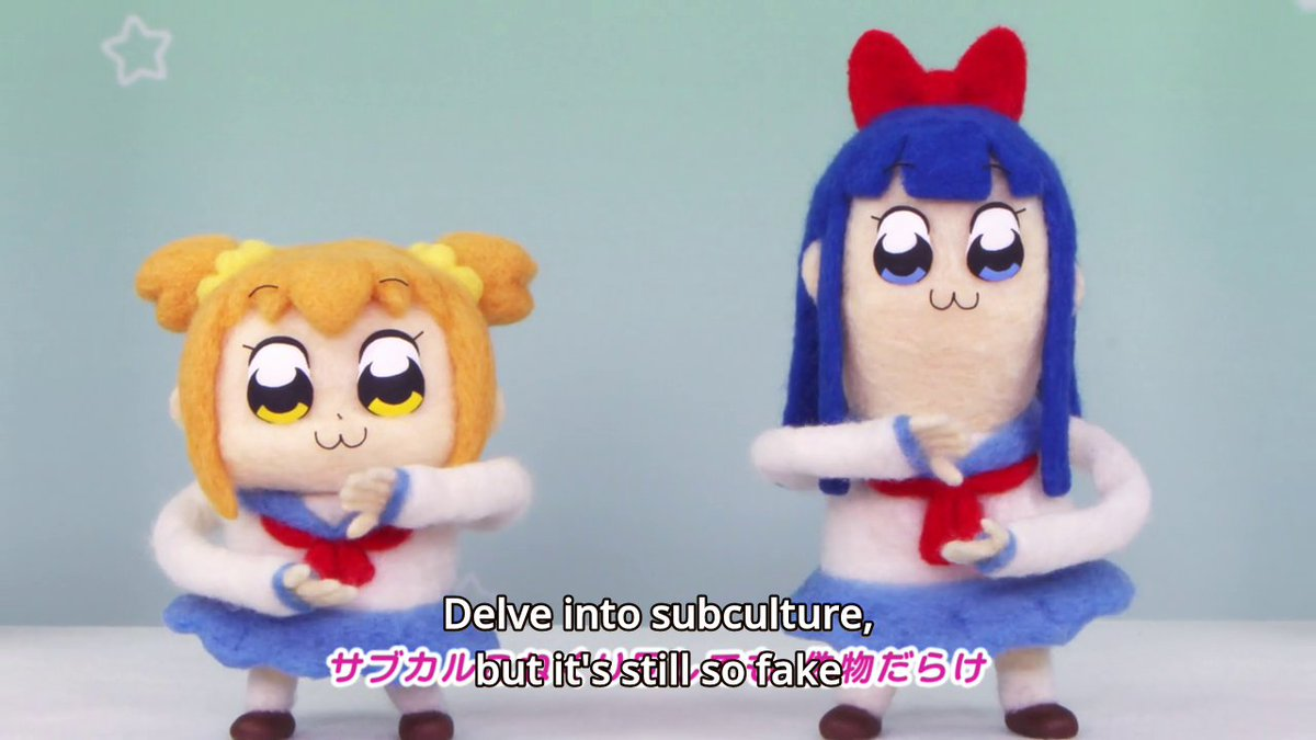 Apparently, Popuko doesn't like subcultu...