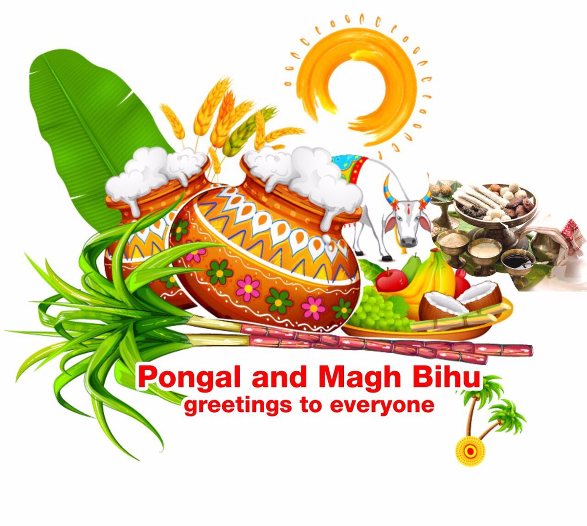 Smriti Z Irani On Twitter Pongal And Magh Bihu Greetings May The