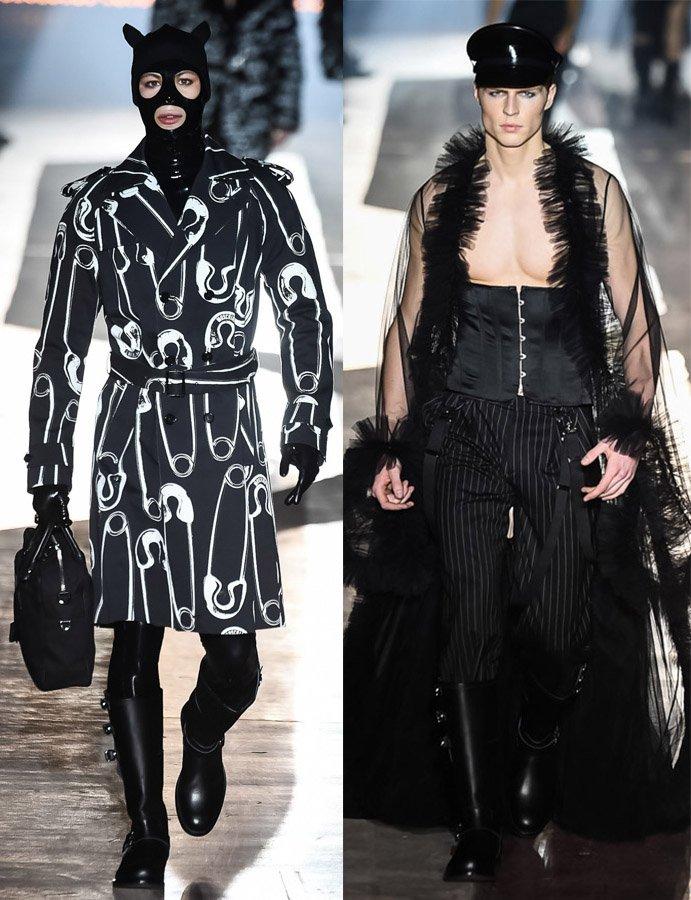 モスキーノが本日ミラノで発表した18年秋冬コレクション 全ルック公開 fashion-press.n…