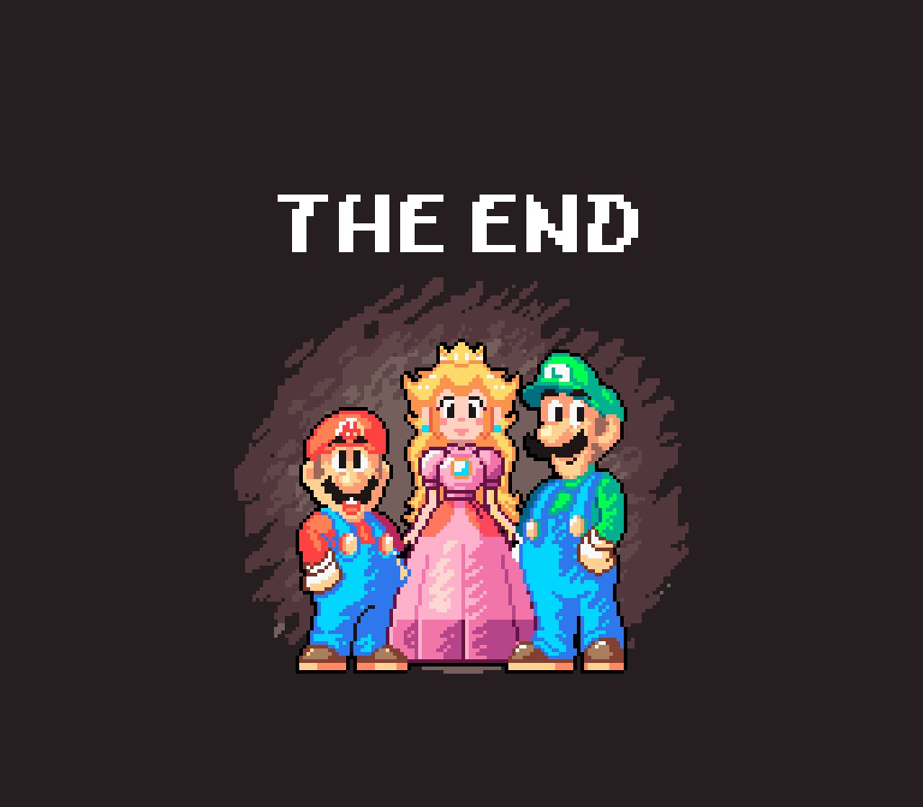 Eto On Twitter Super Mario World With Yoshi S Island Style The End