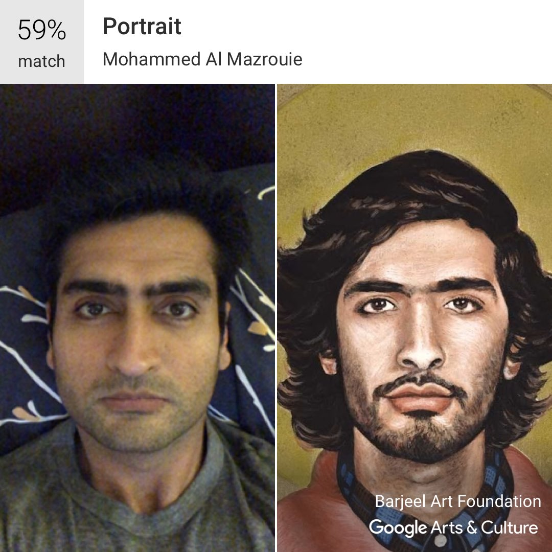 Meet your match: Google app finds famous art you look like