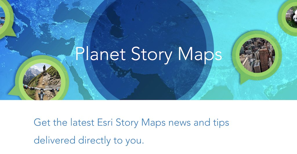 Esri Story Maps On Twitter Cant Get Enough StoryMaps Sign Up - Esri story maps