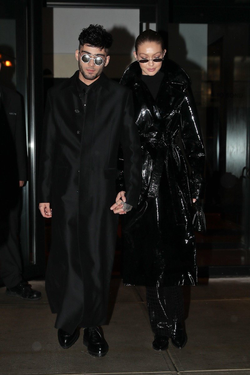 RT @supermodeldaiIy: Gigi Hadid and Zayn Malik channeling Trinity and Neo in 'The Matrix' https://t.co/gVaUSc01Lw