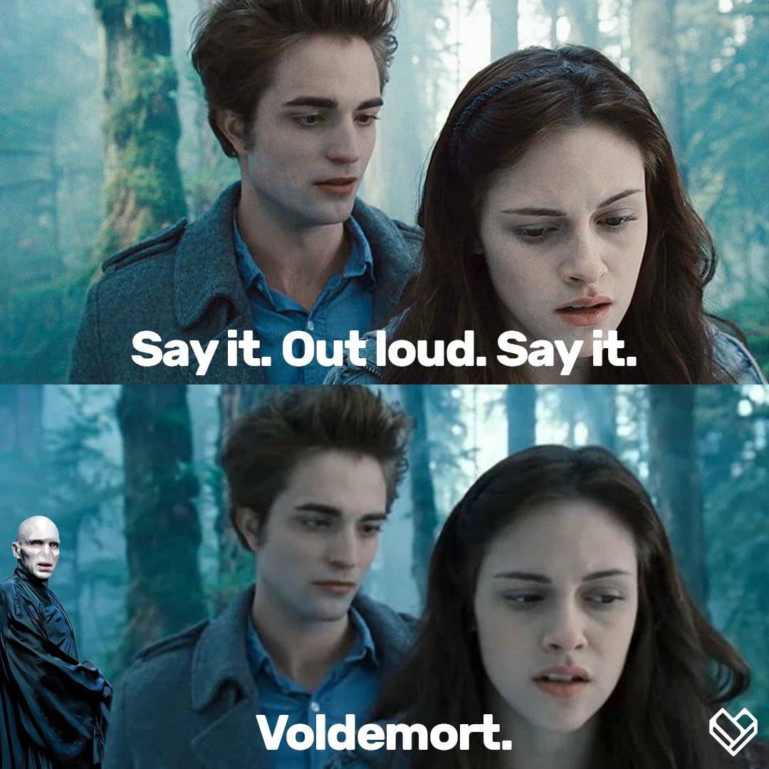 Voldemort: wtf I already killed you Cedric  😂😂😂 #Twilight #HarryPotter #RobertPattinson https://t.co/rMBQfC2BCI