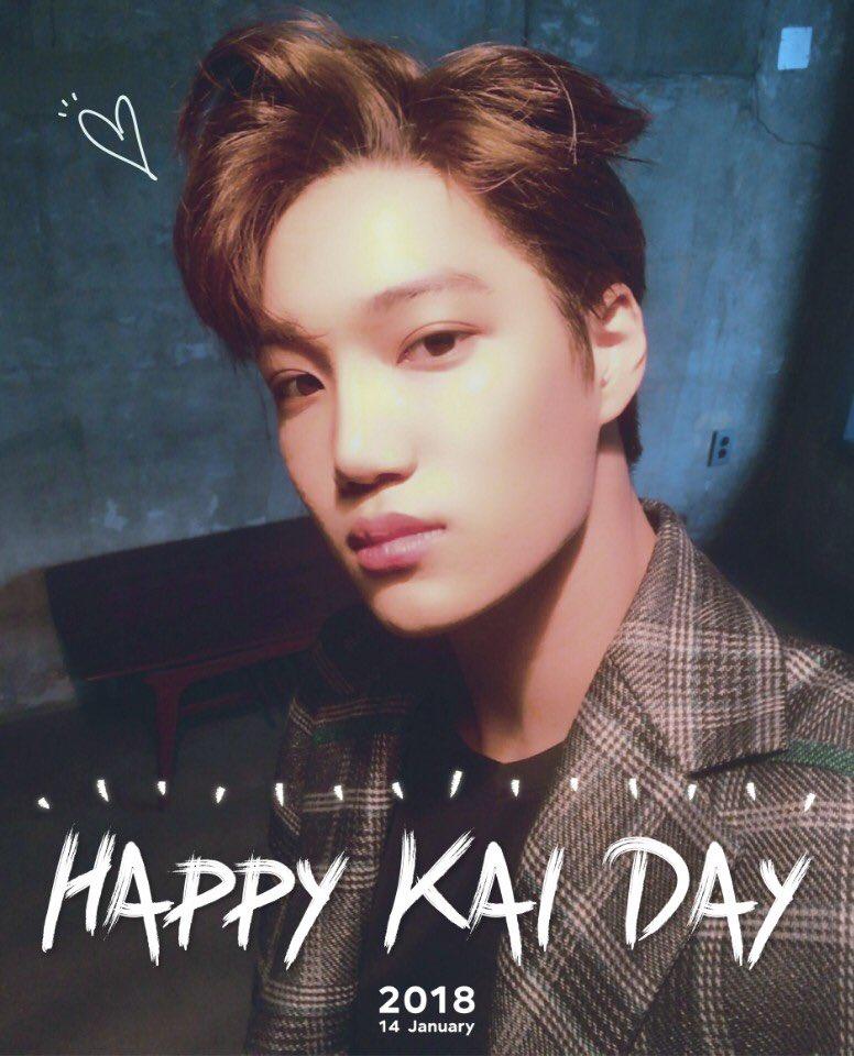 #HappyKAIDay 🎂🎉 #180114 #EXO #KAI https:...