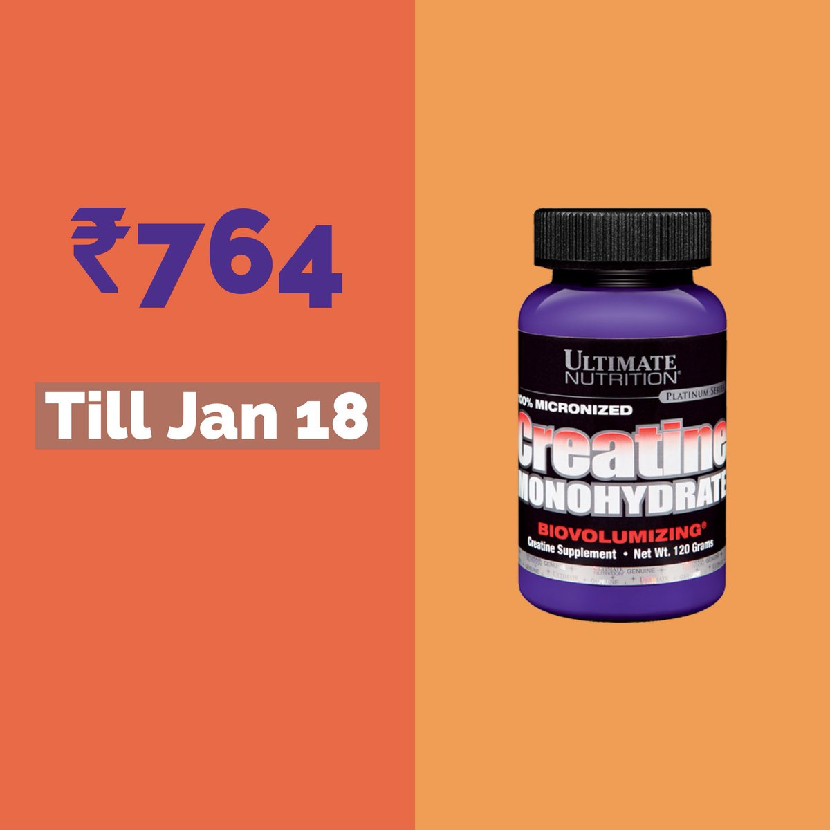 Acacia World On Twitter Ultimatesale On Acacia World Ultimate Nutrition Creatine 15 Extra Off Buy It Now At Just 764 No Coupon Required Just Add The Product To Cart To Avail