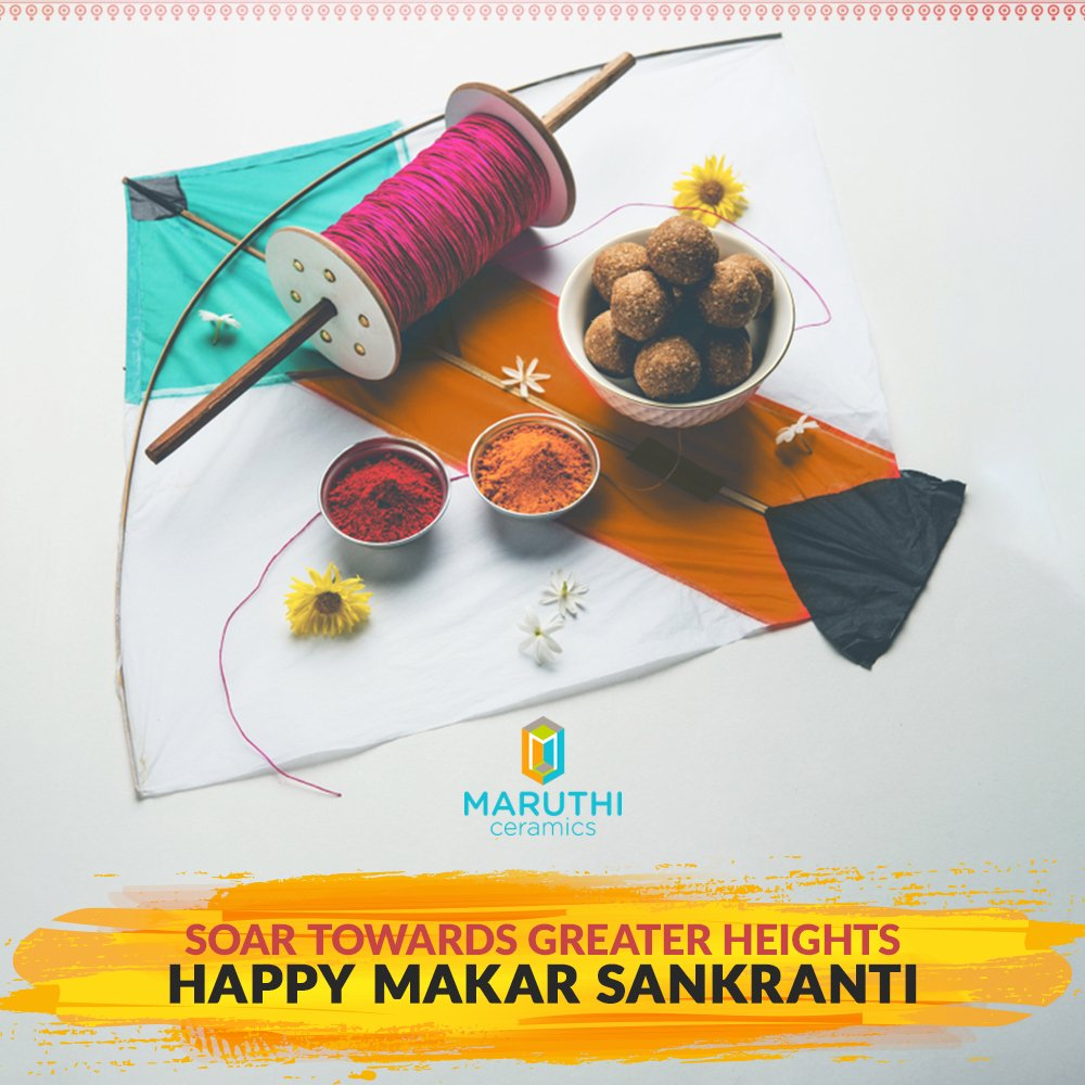 with rays of joy and hope maruthiceramics wishes you and your family a happy makar sankranti and pongal makarsankranti happypongal pongalwishes