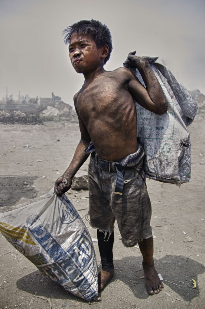 poverty hunger prevent filipino kids from