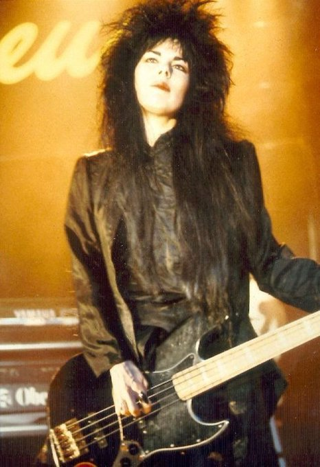 Happy Birthday Patricia Morrison - The Sisters Of Mercy, The Damned.