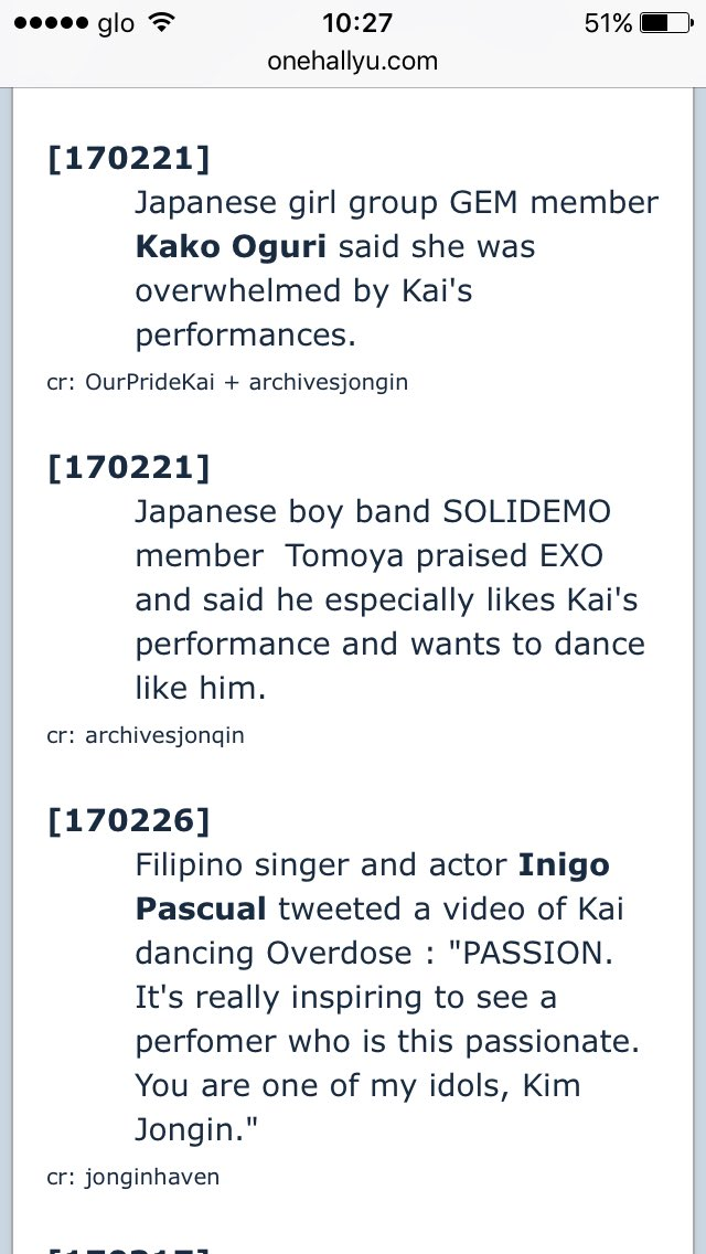 We want Kais solo on Twitter: