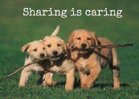 sharing and caring Sharing is caring community is based on sharing love, friendship and relationships with variants positive subjects include positive quotes, jokes, inspirational quotes, photography, poems, blogs, food & bake recipes, prayers, love of god post, and also male & female tips and others 😀😊😇👼👸🌟💫👍👍💃👪👭.