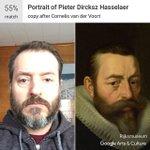 Image for the Tweet beginning: Yep. I'm Pieter Dircksz Hasselaer.