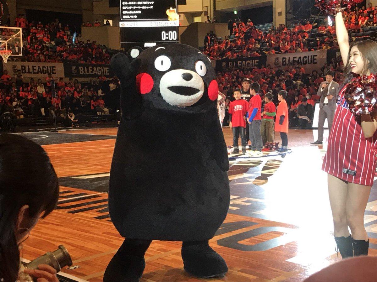 熊本で初めて行なわれた「Bリーグオールスターゲーム2018」に行ってきたモン☆試合前にぼるたんやチア…