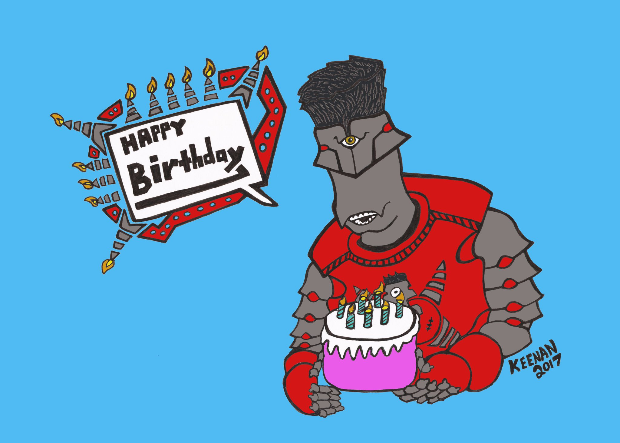 -- Happy Birthday, Kevin!