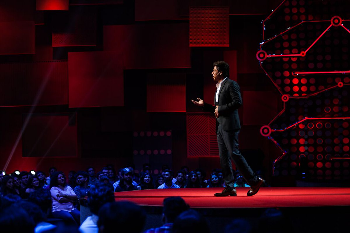 It's time to celebrate the wonder of learning.   #TEDTalksIndiaNayiSoch with @iamsrk starts now on @StarPlus.