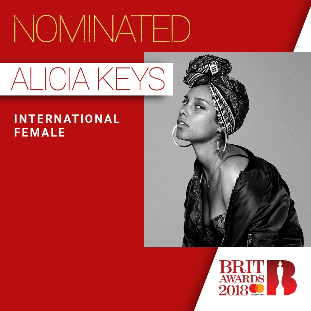 Already vibing with 2018 🎉🎉🎉Let's do this!!! Thanks for the nomination @BRITs!!! #BRITs https://t.co/7ObClRdJs5