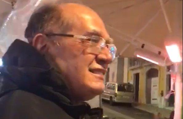 Gilmar é hostilizado por brasileiras em Portugal; veja vídeo https://t.co/BRwtjsxOYi