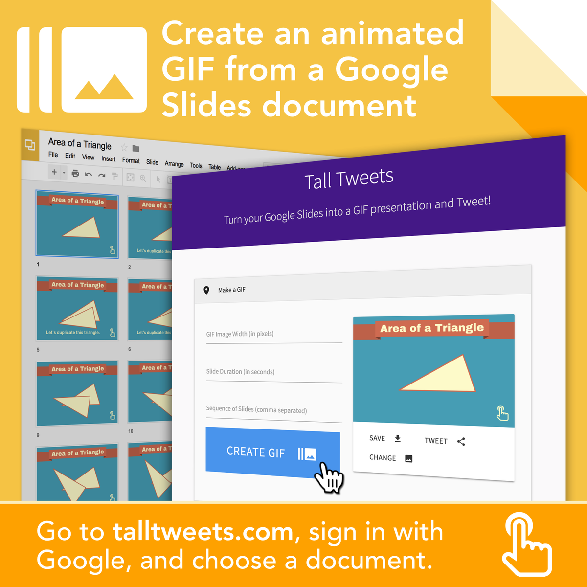 tony vincent on twitter tall tweets turns a google slides