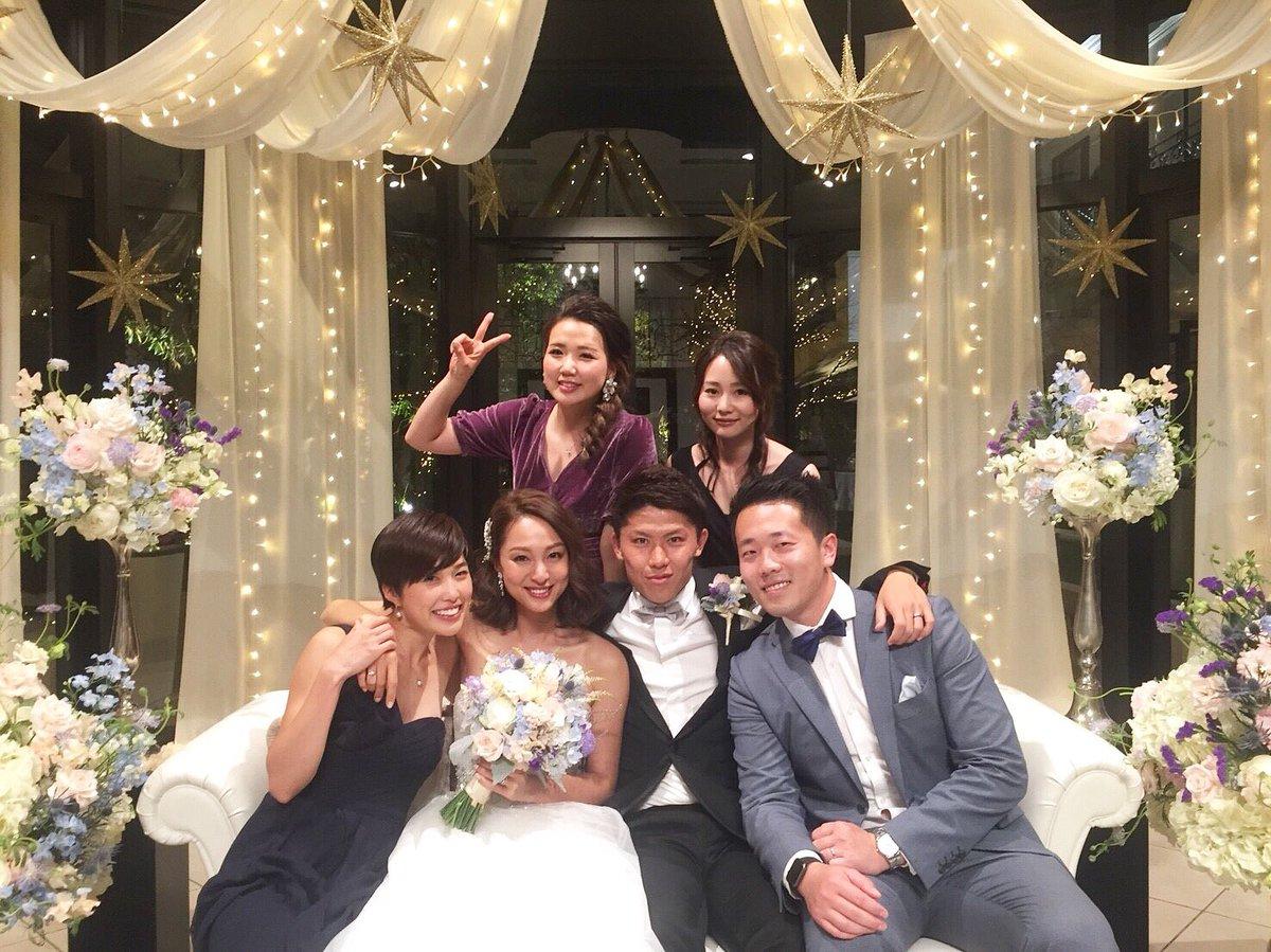 福間文香 #Happy #wedding #太田宏介 #福間文香 #太田夫妻 #最高pic.twitter.com/Lqc0pgfbN0
