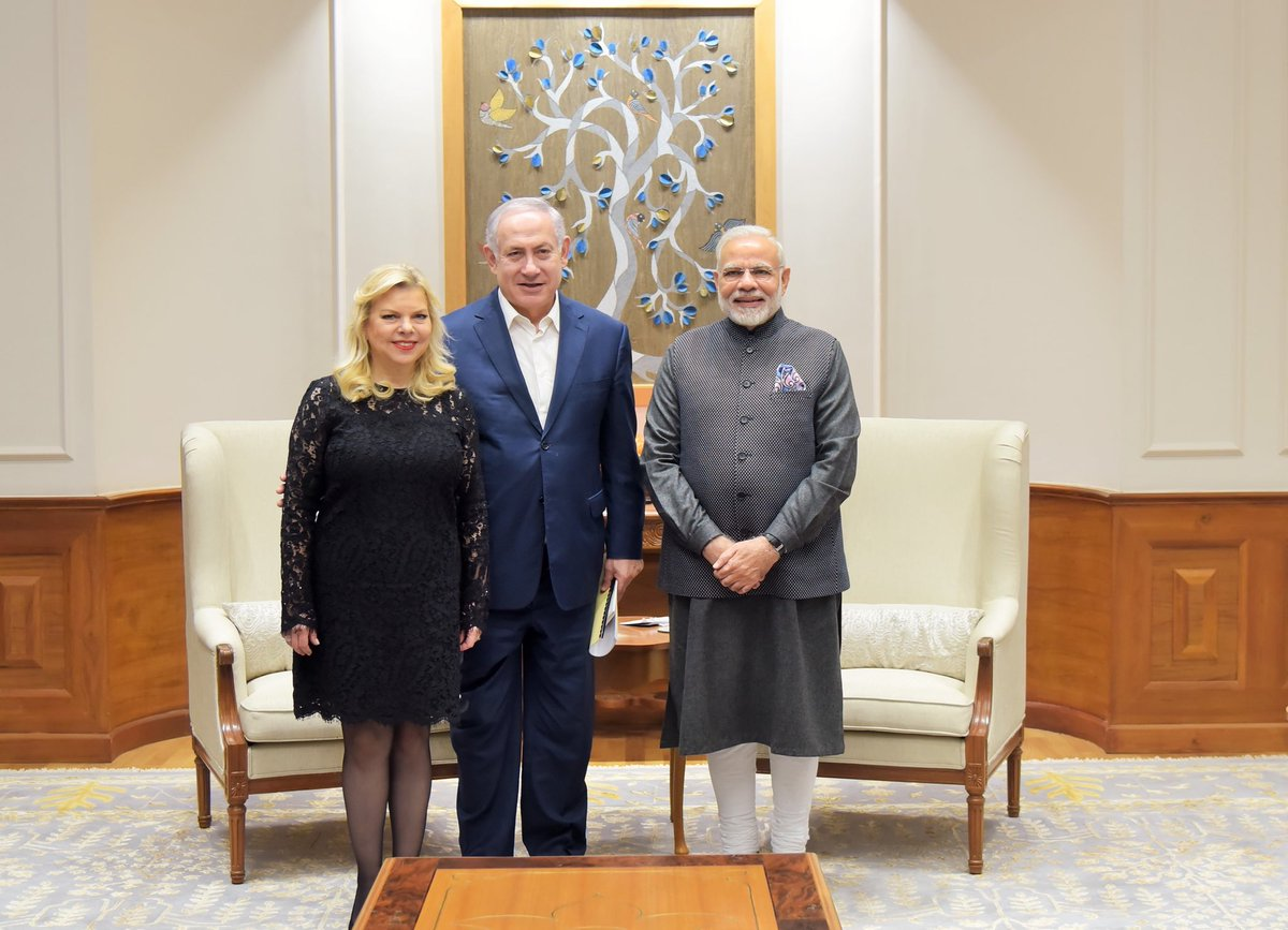 Delighted to welcome Mrs. Netanyahu and...