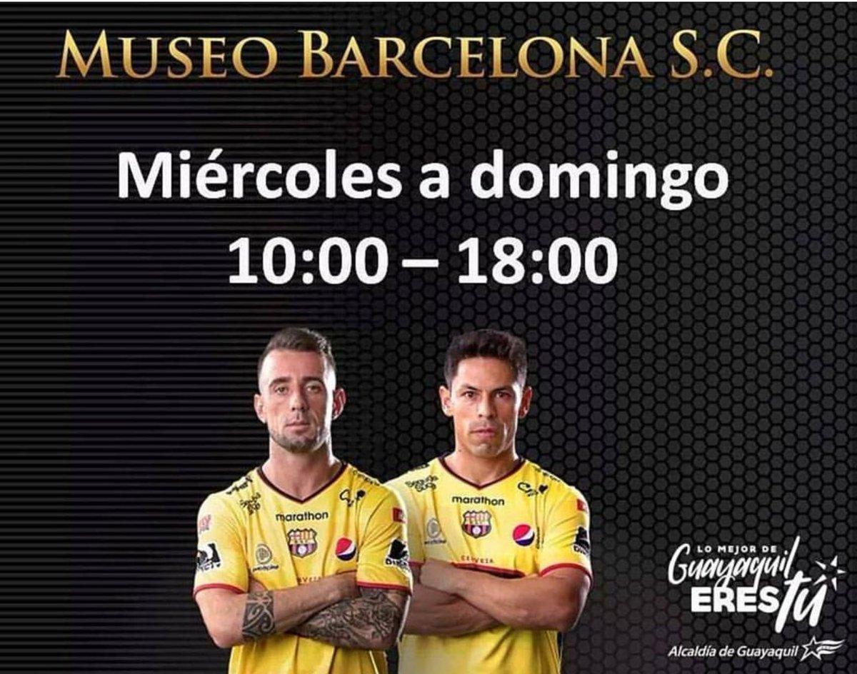 RT @MuseoBSC: @museobsc está ubicado en Puerto Santa Ana, edificio Astillero, primer piso. ¡ENTRADA GRATUITA! https://t.co/Hn7t4AY8rk