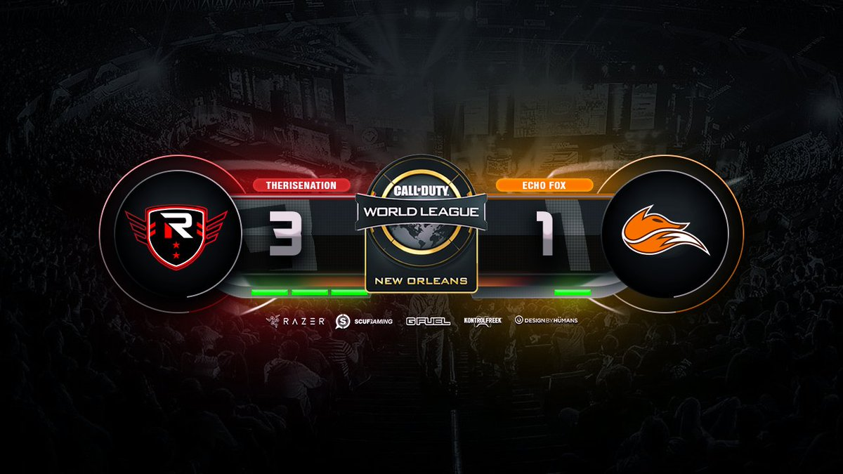 #RISECOD defeats @echofoxgg on Ardennes...