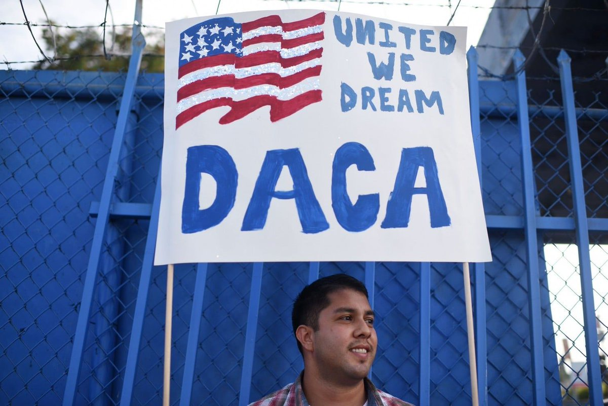 Though temporary, a court's decision to protect #DACA and #Dreamers makes a powerful statement. The #Trump admin's anti-immigration policies are unconstitutional: https://t.co/BGpWLKhp22