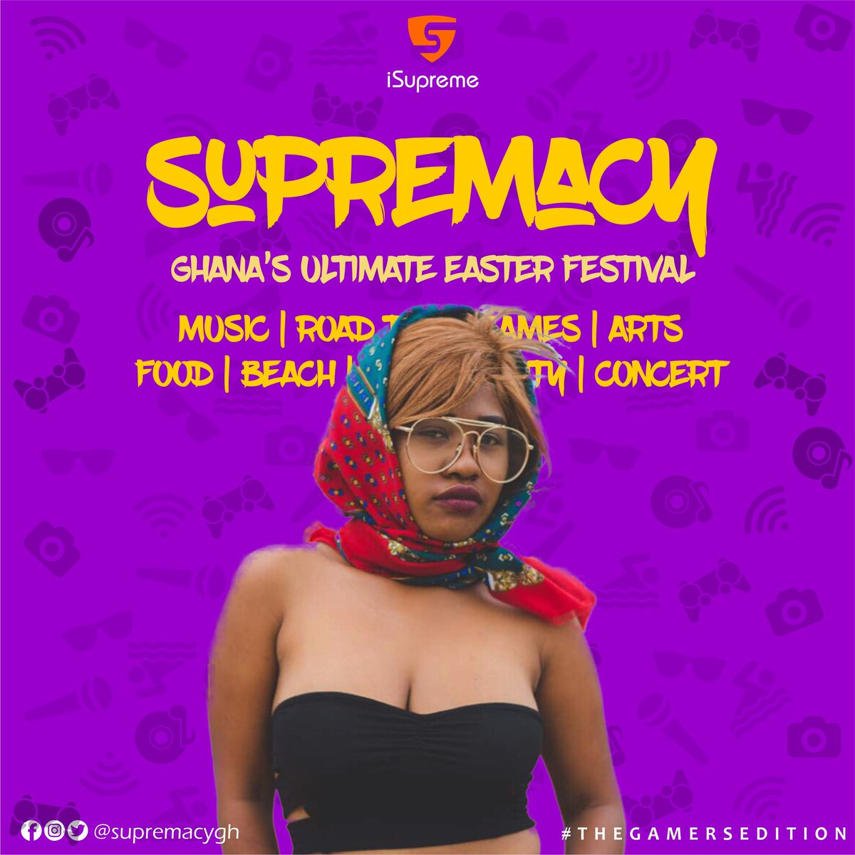 Easter came early. #Supremacy2018 Ready?...