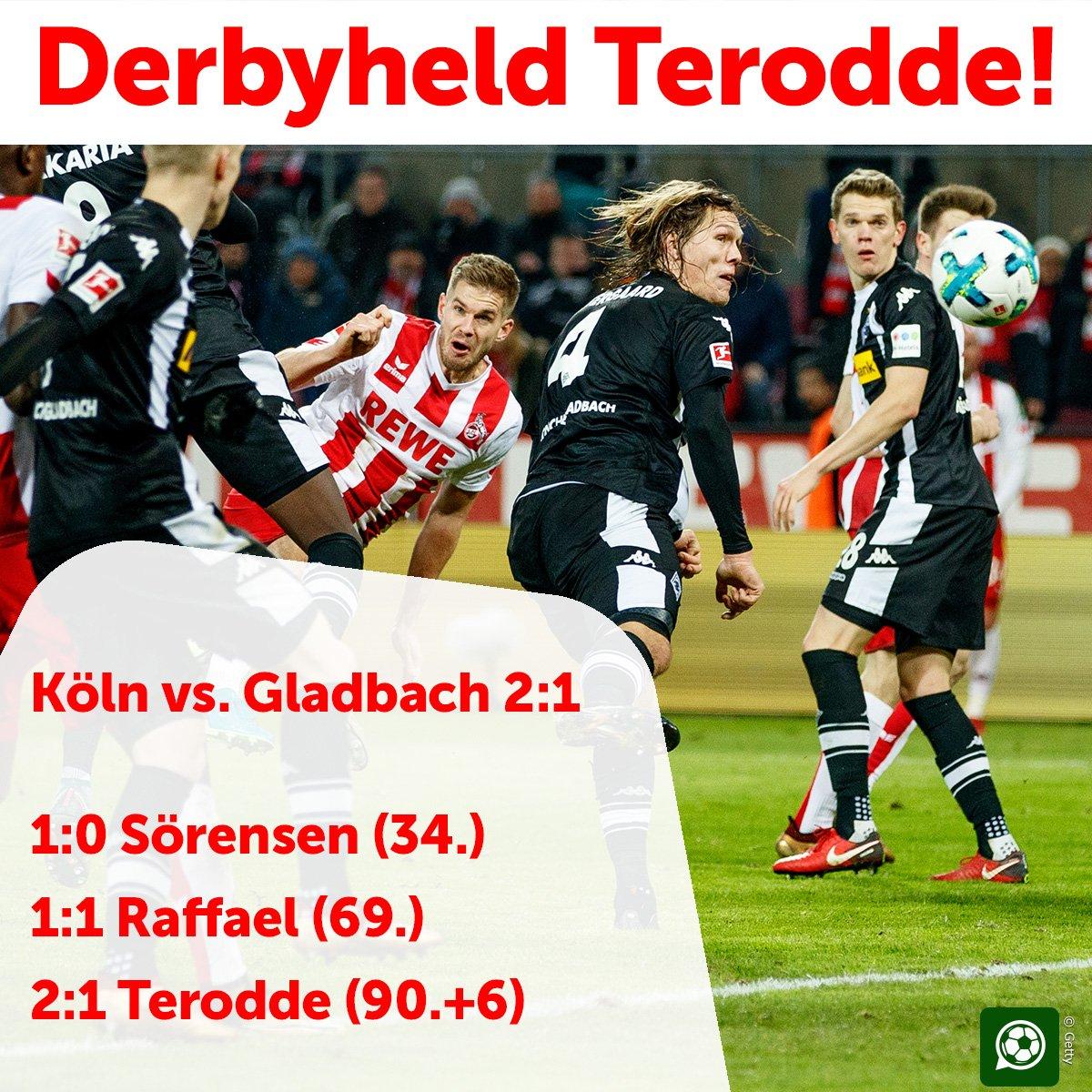 Die Kölner Aufholjagd hat begonnen! 😉 ht...