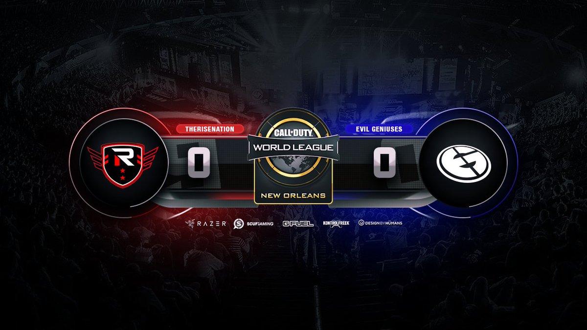 #RISECOD is playing @EvilGeniuses on Cha...