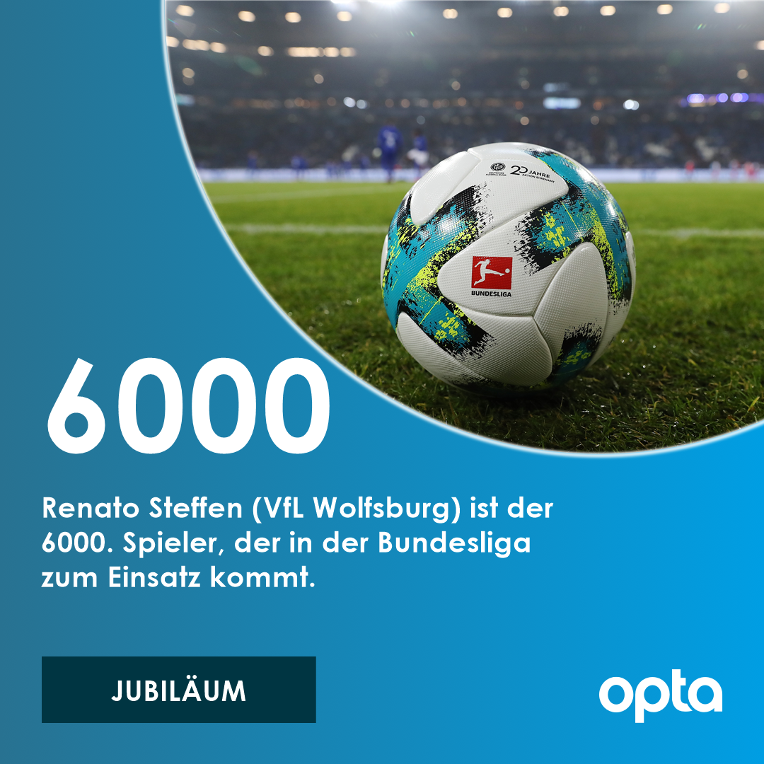 6000 - Renato Steffen (@VfL_Wolfsburg) i...