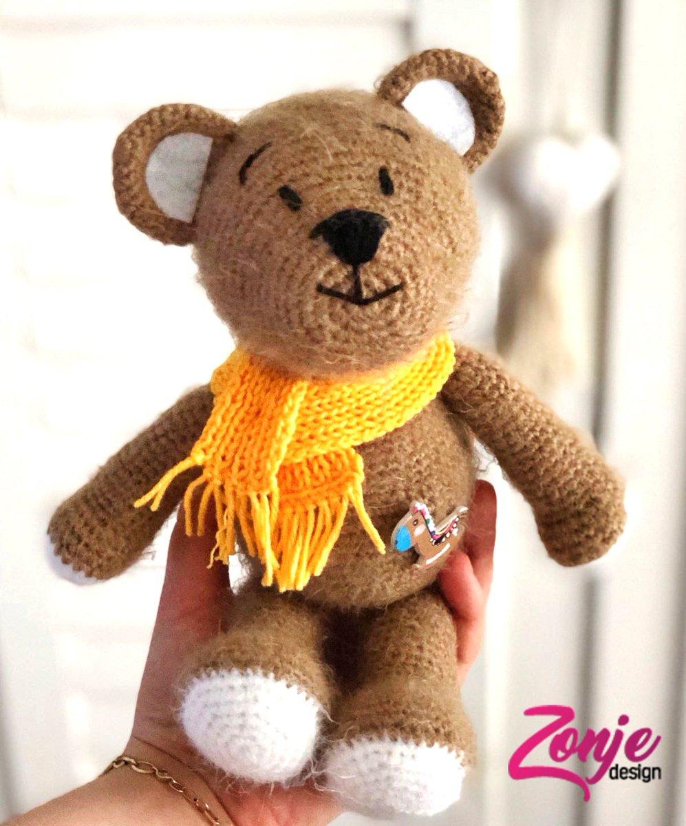 Ayı Teddy Yapımı Amigurumi - #1 (Crochet Amigurumi Teddy Bear ... | 1200x997