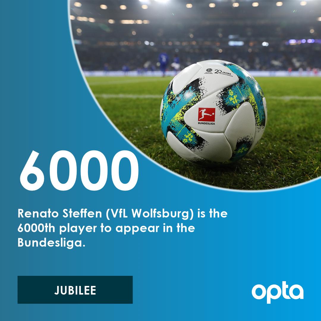 6000 - Renato Steffen (@VfLWolfsburg_EN)...