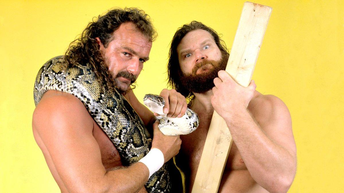 Happy Birthday to my longtime hoooooooo @OfficialHacksaw ! See you soon my friend! #trustme #hoooooo #WWE #HOF https://t.co/49uaDZmkcP