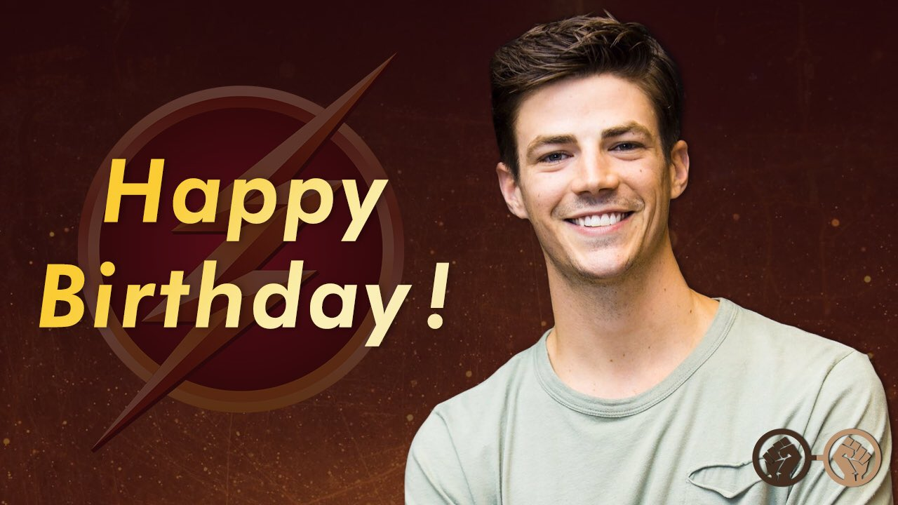 Happy Birthday, Grant Gustin. The Flash turns 28 today.
