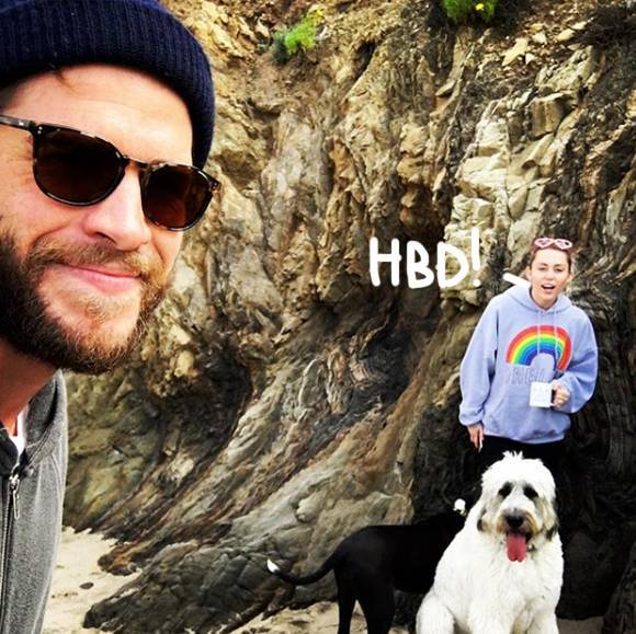 Miley Cyrus Wishes Her Very Best Friend Liam Hemsworth A Happy Birthday!