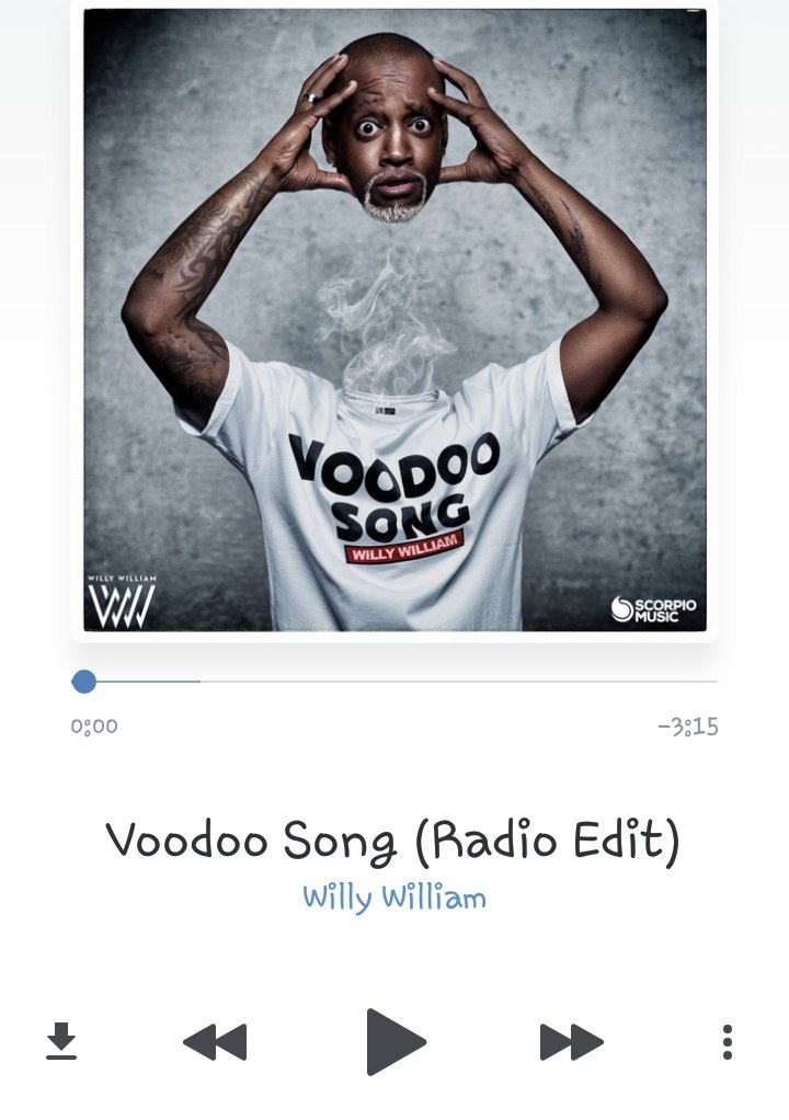 2017 WILLY WILLIAM VOODOO SONG RADIO EDIT СКАЧАТЬ БЕСПЛАТНО