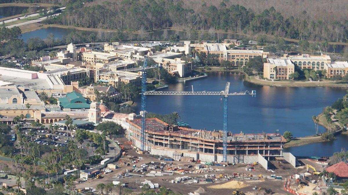 [Walt Disney World] Agrandissement du Disney's Coronado Springs Resort (juillet 2019) DThyoufXUAAe5r3