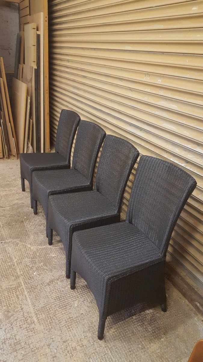 The Furniture Doctor On Twitter Cane Chairs Spray Painted Dark Grey Sprayfinish Spraypainted Upcycled Canechairs Canefurniture