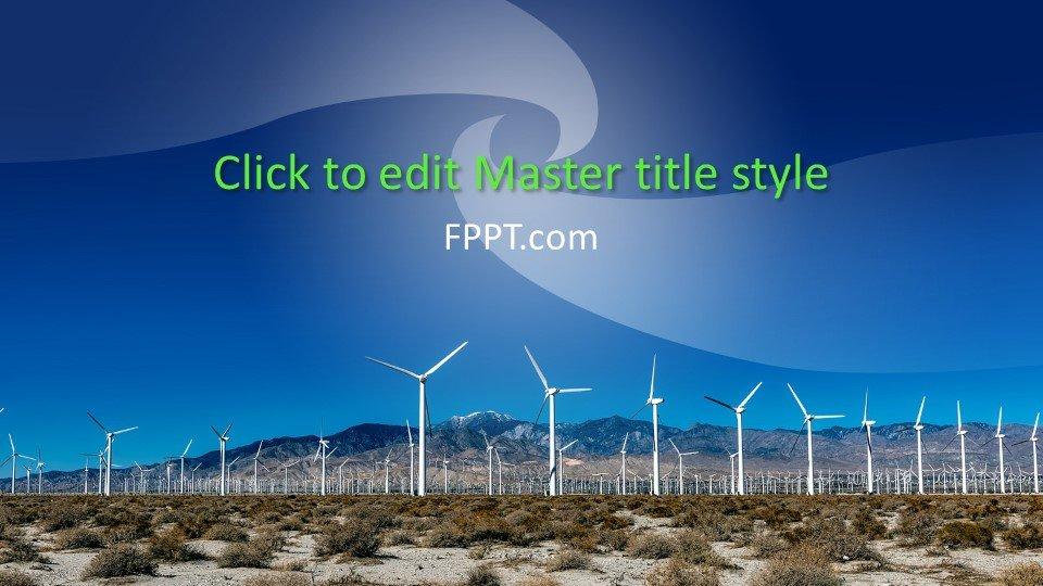 powerpoint templates on twitter free windmill powerpoint template