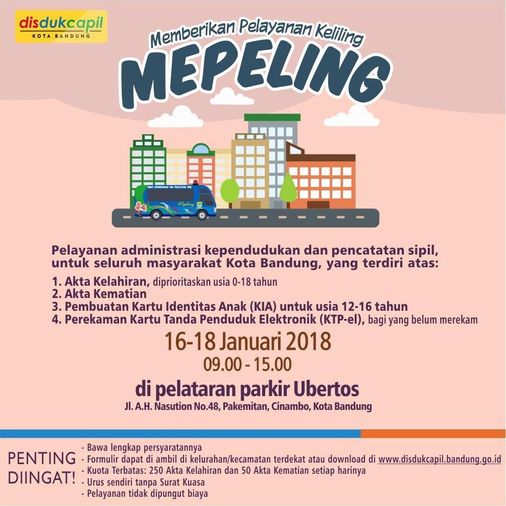Disdukcapil Kota Bandung On Twitter Mepeling Akta