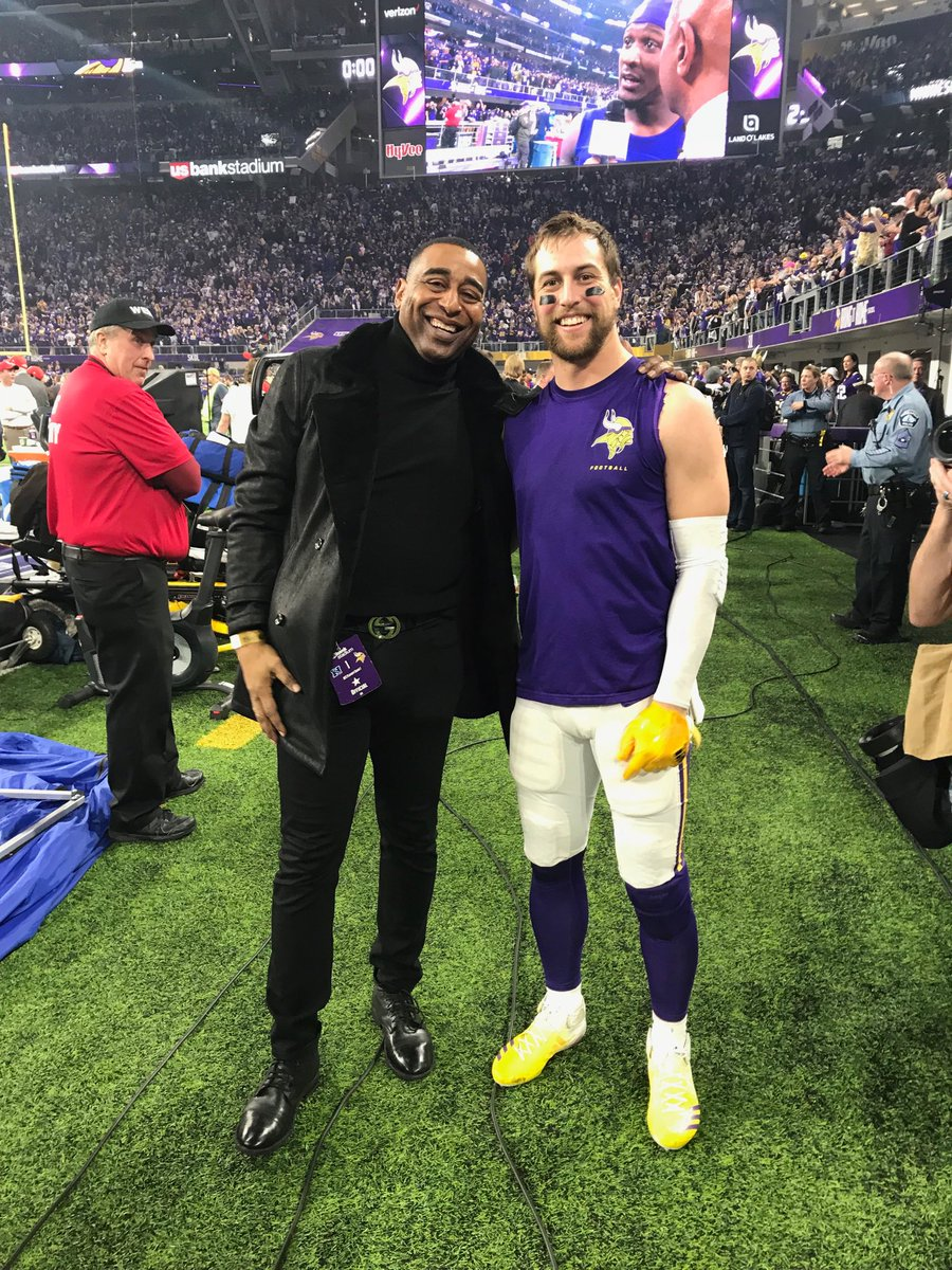 RT @criscarter80: My guy @athielen19 #Vikings https://t.co/0uEbB5PZiF
