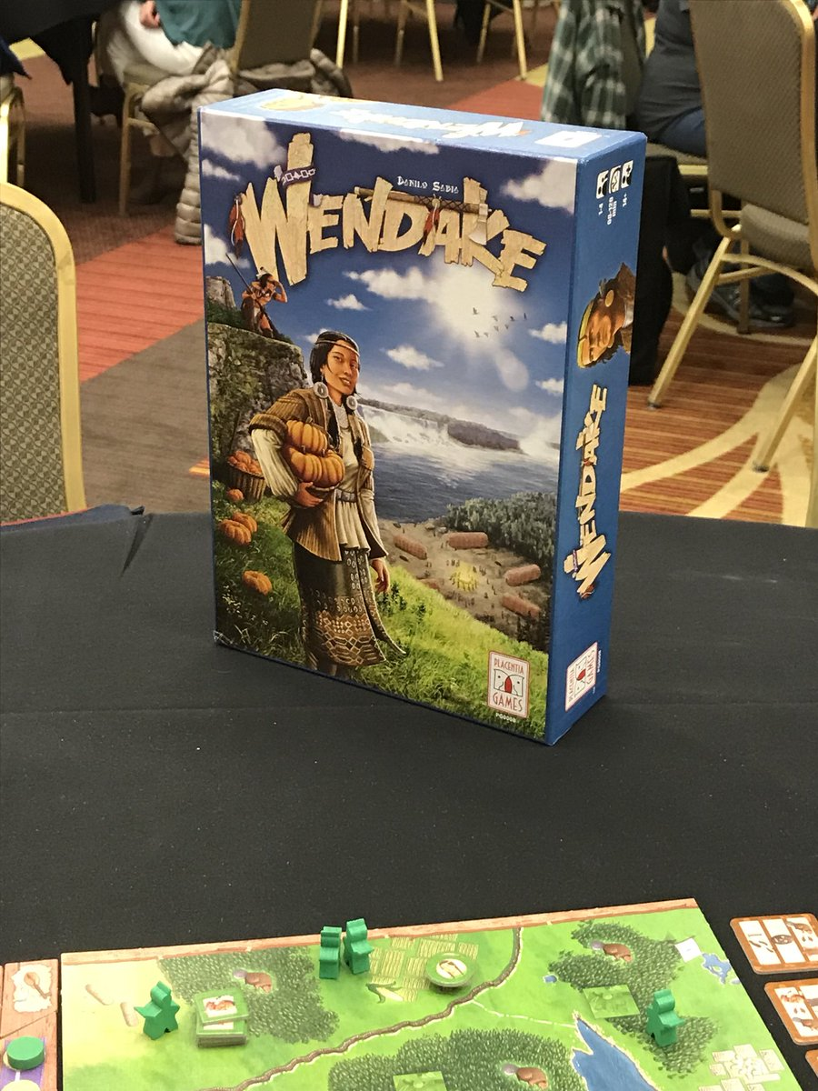 Thing 12 Games On Twitter Playing 2p Wendake At Orcacon Really