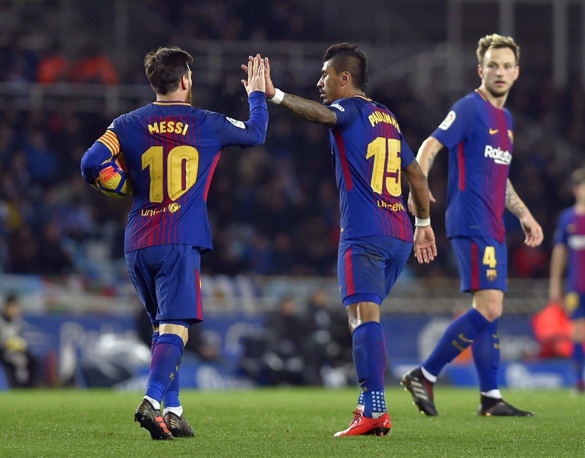 Chấm điểm kết quả Real Sociedad 2-4 Barcelona