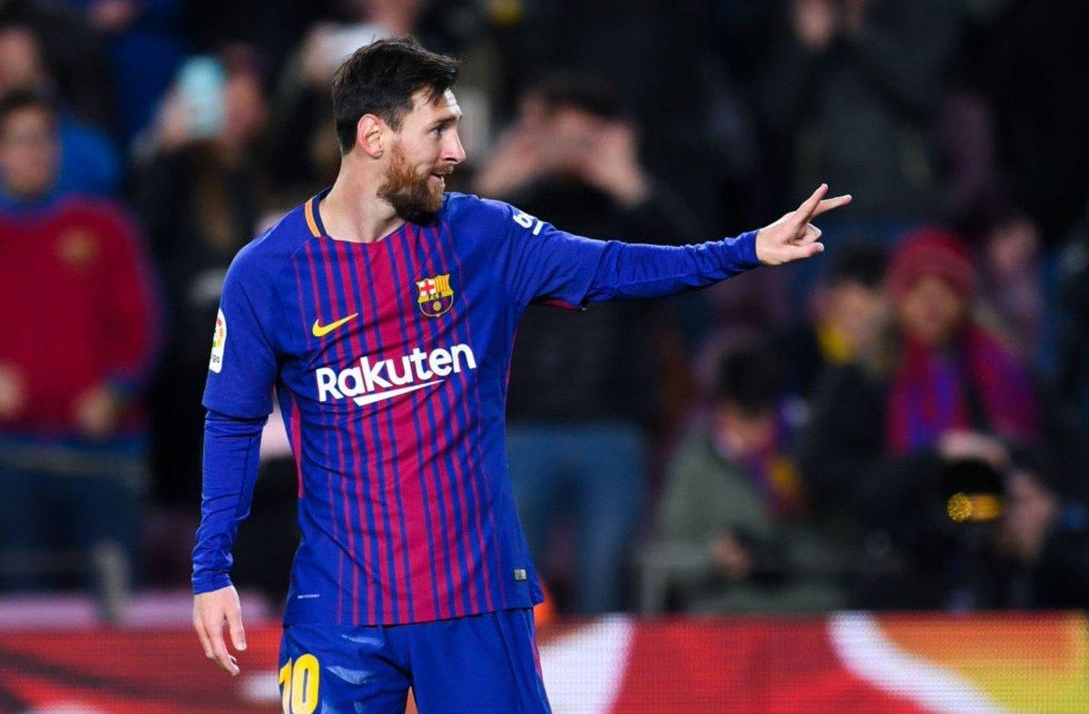 ميسي يسجل الهدف الرابع لبرشلونة