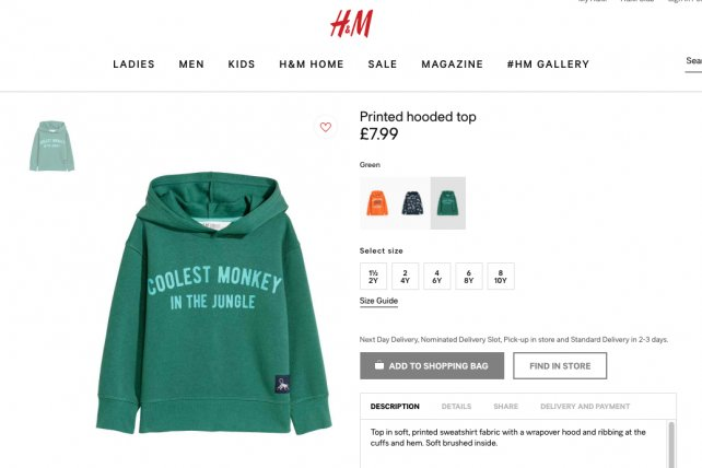 """.@hm apologizes after accusations of racist ad, reviews """"internal routines"""" https://t.co/FUuUBplJlc https://t.co/bTZBqW94JK"""