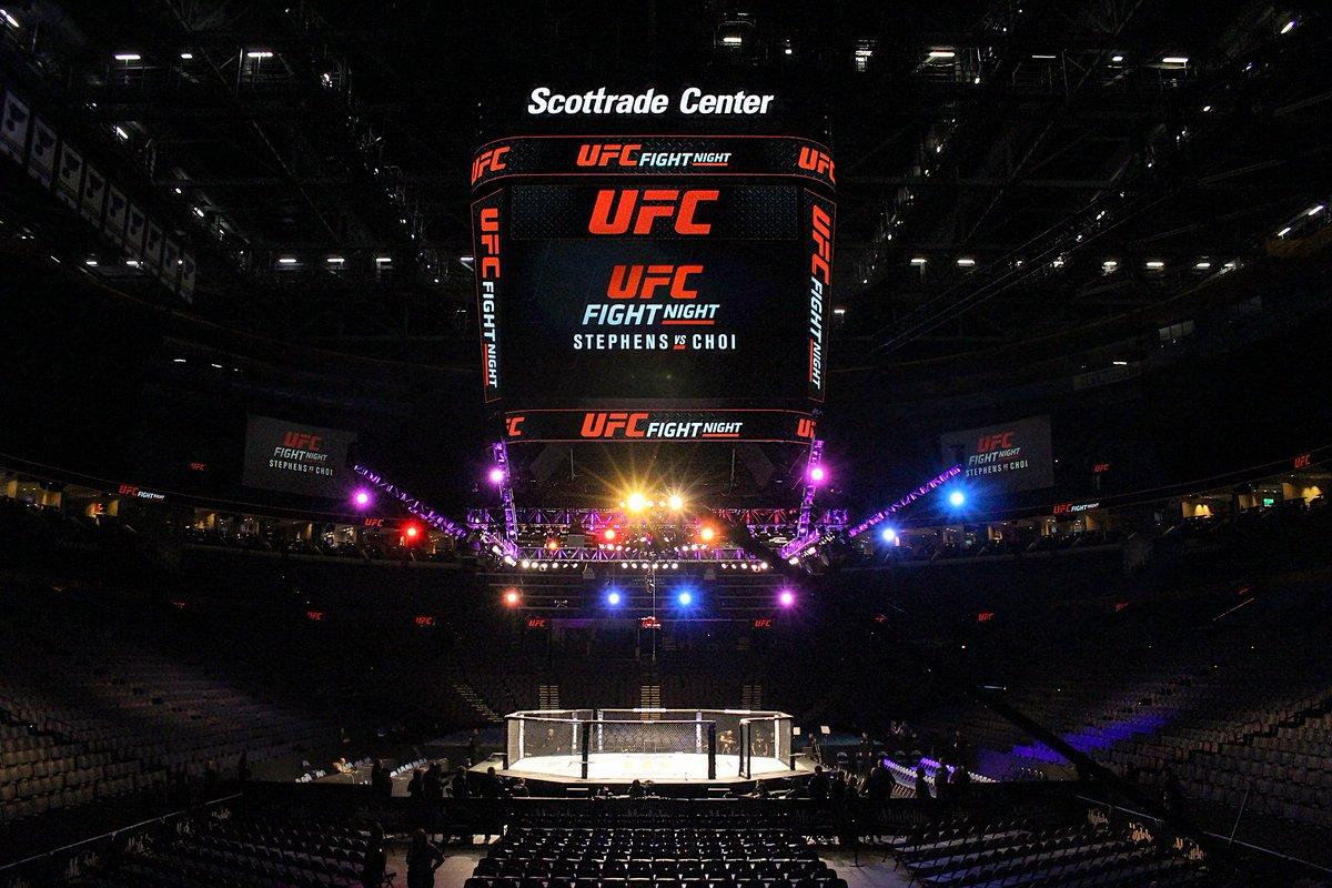 RT @ufc: WHAT'S UP ST. LOUIS⁉️  #UFCSTL starts on @UFCFightPass at 6:30pmET! https://t.co/nXHEjGjlTq