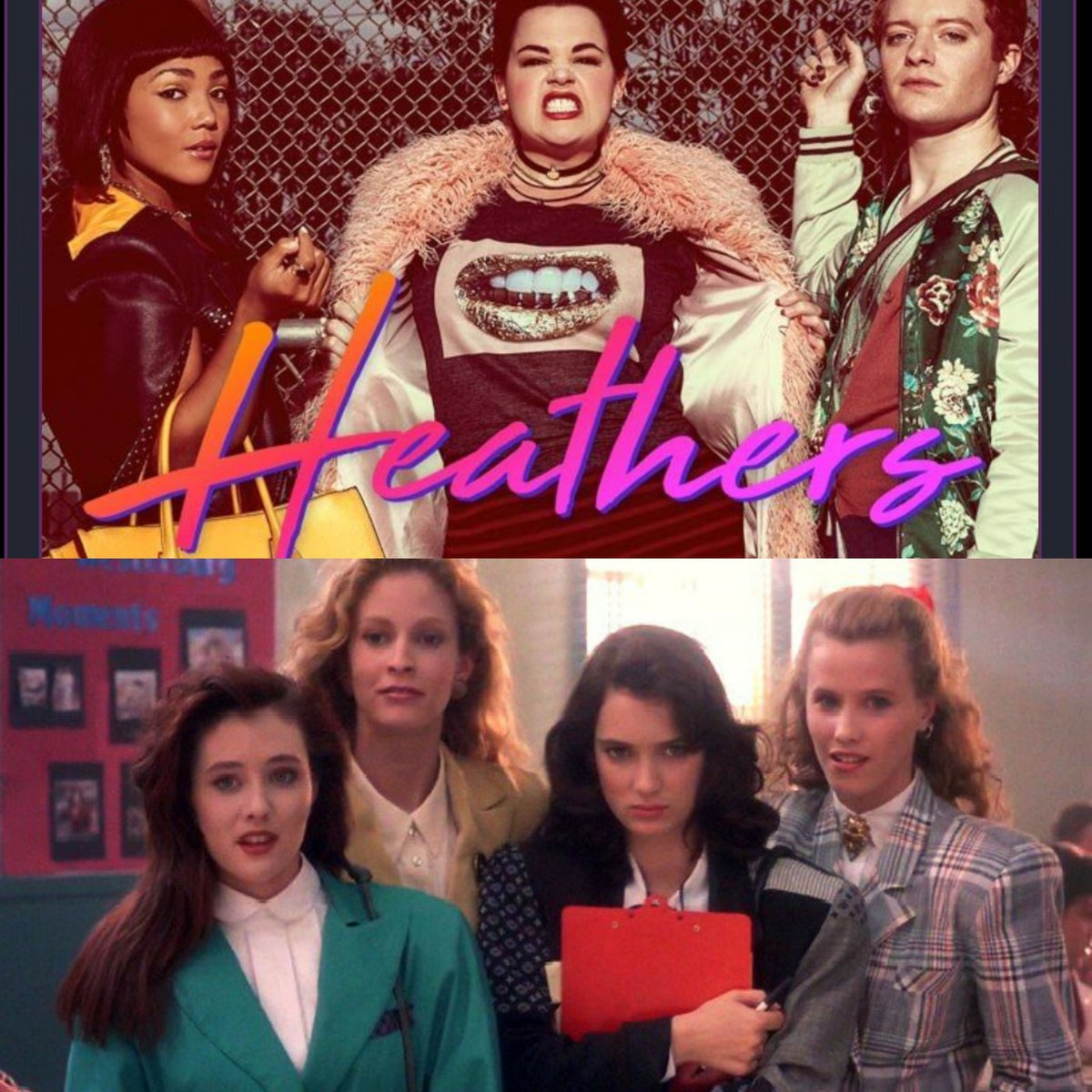 The Heathers casts from 2018 and the original movie