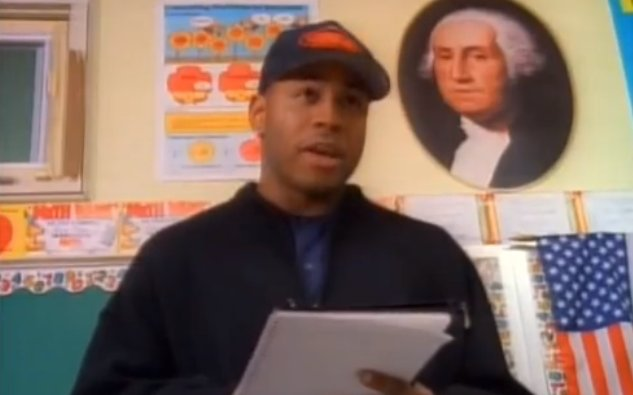 "Happy birthday, LL Cool J. Now playing ""Sick Day,\"" an episode of The Adventures of Pete & Pete."